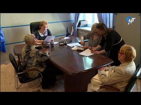 Председатель Новгородской областной думы Елена Писарева провела прием граждан