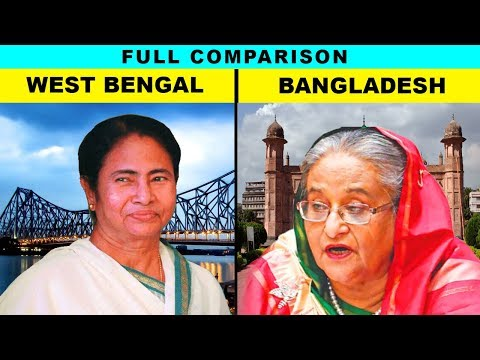 West Bengal vs Bangladesh (Hindi) Full comparison UNBIASED 2019 | Natasha Dixit | India's top facts