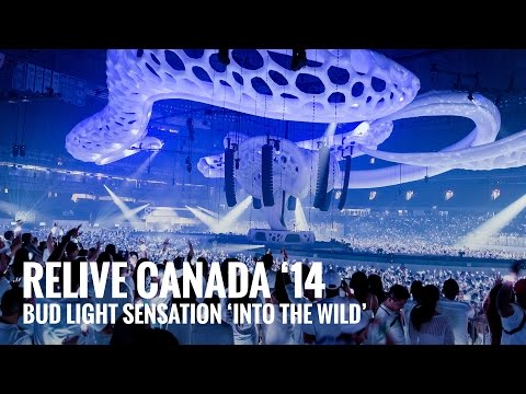 video Bud Light Sensation Toronto 2014