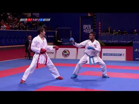 Grand Winner Sadriddin Saymatov In Action Ahead Of Karate 1-Premier League Rotterdam!