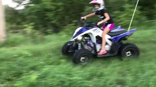 10. Evol ATV - installing lights on a 2017 Yamaha Raptor 90