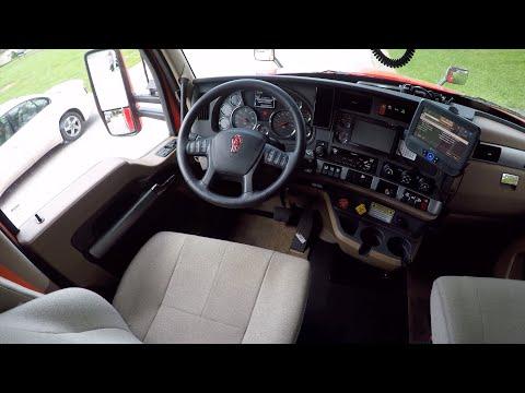 Team OTR Trucking | Interior tour of our 2020 Kenworth T680