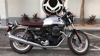 1. 2017 Moto Guzzi V7 III Anniversario at Euro Cycles of Tampa Bay