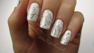 hey guys! this video will show you how to easily create a beautiful and unique stone marble nail art design! i'm loving this manicure so much and i hope you ...