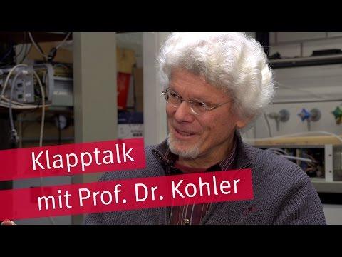 Feinstaub reduzieren: Klapptalk mit Prof. Kohler