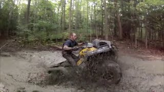 7. Can Am 650 Xmr & 850xp Mudding