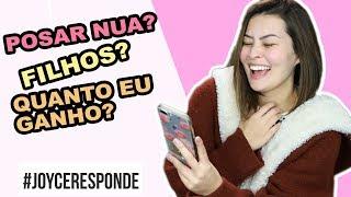 #JOYCERESPONDE  MAS VAI CASAR QUANDO BRASIL?