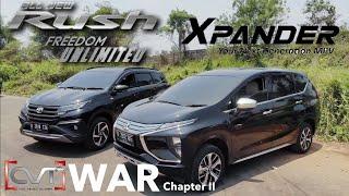 Download Video CVT WAR #2: Toyota Rush TRD Sportivo Vs Mitsubishi Xpander Ultimate MP3 3GP MP4