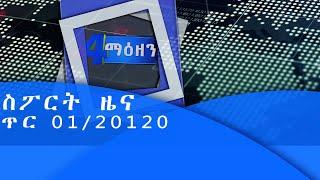 ኢቲቪ 4 ማዕዘን ስፖርት  ዜና  ጥር 01/20120