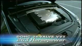 Motorweek Video Of The 2008 Cadillac CTS