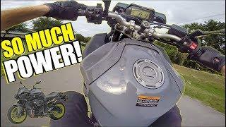 2. TORQUE MONSTER! - 2017 Yamaha FZ-10 Test Ride + Review