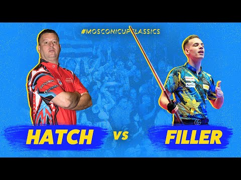Dennis Hatch vs Joshua Filler | 2017 Mosconi Cup
