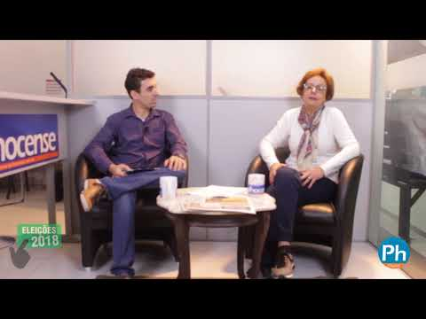 Candidata a deputada estadual Dirce Heiderscheidt em entrevista ao jornal Palhocense