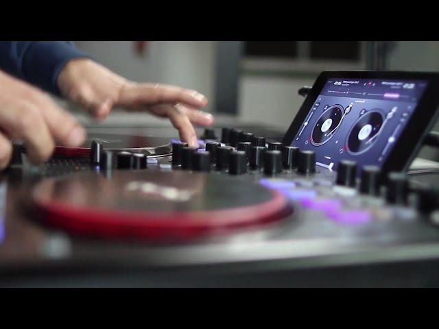 DMC Champion DJ Rasp with djay for Android