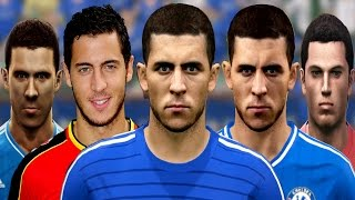 Eden HAZARD From PES 2010 To PES 2015