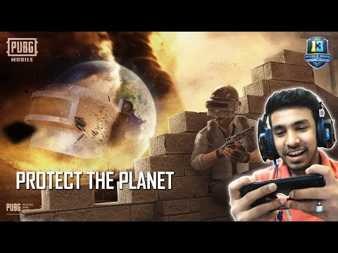 TIME TO PROTECT THE PLANET FROM SANDSTORM   PUBG MOBILE
