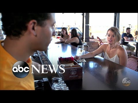 Jealous girlfriend berates her bartending boyfriend l What Would You Do