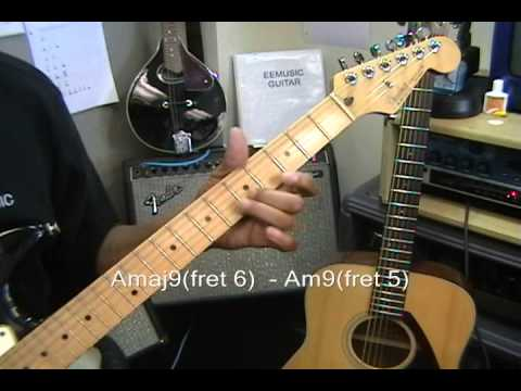 GuitarRap How To Play A Bunch Of Amazing Guitar Chords With Two Fingers Smoke On The Water