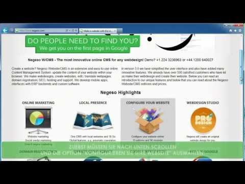 Homepage erstellen mit www.negeso-cms.de +49.30-56796793