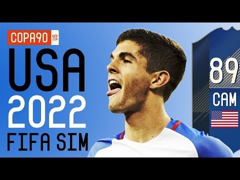 How Good Pulisic & The USMNT Will Be At 2022 World Cup - FIFA 18 SIM | Ep. 7