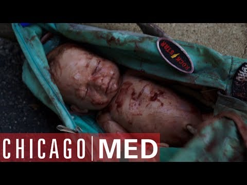 Dr Rhodes Finds A Baby In A Backpack | Chicago Med