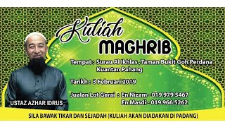 Video Kuliyyah Maghrib & Soal Jawab - Kitab Jam'ul Jawami - Ustaz Azhar Idrus Official MP3, 3GP, MP4, WEBM, AVI, FLV Mei 2019