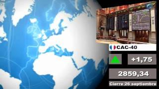 Bolsas; Mercados internacionales Cierre lunes 26  y media sesi...