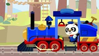 ПОЕЗД ДОКТОРА ПАНДЫ (Dr. Panda Train) развивающий мультфильм для детей и малышей, которые любят ПАРОВОЗИКИ и разную технику. Сегодня Доктор Панда Машинист, он управляет интересным поездом, который перевозит пассажиров, уже знакомых детям по предыдущим сериям анимации Доктор Панда. Дети во время игры смогут принимать активное участие в жизни каждого пассажира, давать им необходимые предметы, так же делать посадку пассажиров на станциях и вокзалах. Но это ещё не всё, в поезде Доктора Панды есть грузовой вагон, на который ребёнок сможет погружать цифры и не только. Во время увлекательной поездки на пути будут встречаться разные животные, возле которых можно будет останавливаться и приводить их в действие. Найти приложение Поезд Доктора Панды можно здесь:App Store https://itunes.apple.com/us/app/dr-panda-train/id1210550387?mt=8Google Play https://play.google.com/store/apps/details?id=com.drpanda.train&referrer=utm_source%3Dwebsite%26utm_medium%3DgamepageAmazon https://www.amazon.com/dp/B072MGZM4P/Понравилось, тогда подписывайтесь на канал Носики Курносики http://goo.gl/tq5oK1  Доктор Панда ВСЕ СЕРИИ ПОДРЯД - Сборник для детей https://www.youtube.com/playlist?list=PLrxOuNLlgc3YyQTdYo5AxMaV71fwm-HzmРазвивающее видео для детей с Даником: https://www.youtube.com/watch?v=YMnmZHuB_rc&index=1&list=PLrxOuNLlgc3ZHo7ioYYl-OGB3yt9d47awМы на Facebook https://www.facebook.com/groups/nosikikurnosikiМы в Instagram https://www.instagram.com/nosiki_kurnosiki_play