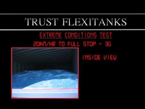 Trust Flexitanks Extreme Testing