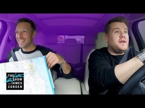PREVIEW:  Carpool Karaoke With Chris Martin
