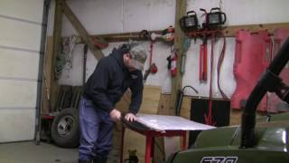 10. Installing the EMP 10279 windshield on my 2017 polaris Ranger!