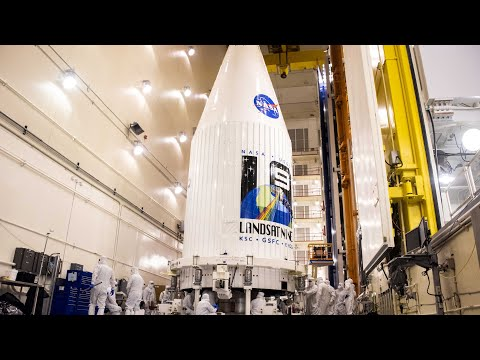 Launch of the Landsat 9 Earth-Observing Satellite