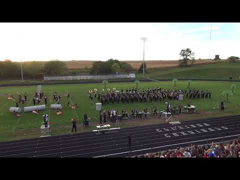 "Waverly ""Pride Of The Vikes"" @ 2017 SW Iowa Band Jamboree"