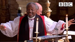Royal Wedding -  Bishop Michael Curry's captivating sermon
