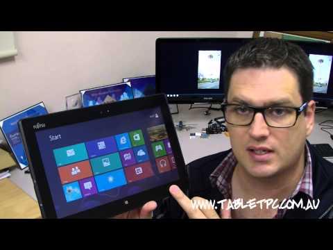 Fujitsu Q702 Windows 8 Tablet PC Review