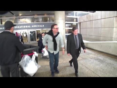 Frequent Flier Andy Garcia Makes His Way Through LAX