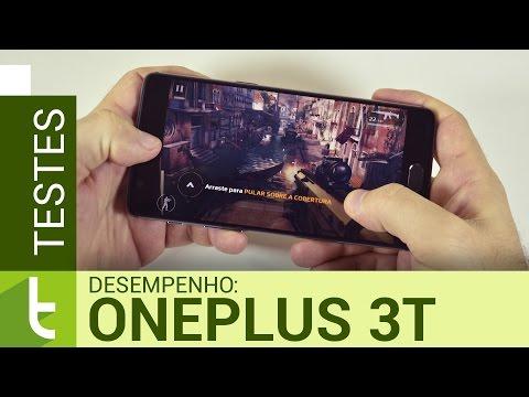 Desempenho do OnePlus 3T  Teste de velocidade oficial do TudoCelular