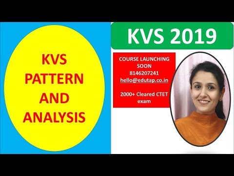 Kvs Pattern And Analysis|2019