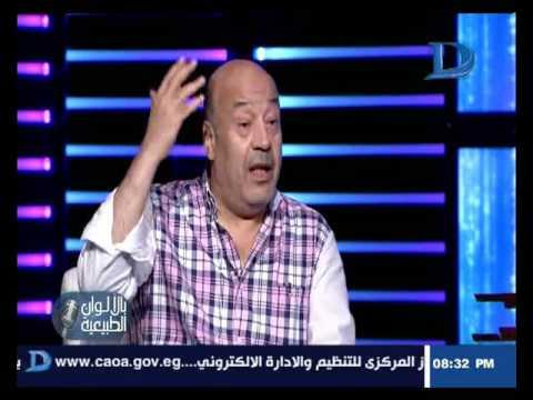 حجاج عبدالعظيم: أتمنى أن أكون عادل إمام!  أنا راضي