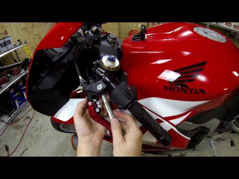 Honda CBR600RR - How To Replace Your Clutch Lever