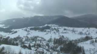 Last day of winter in the mountains - time lapse - HD