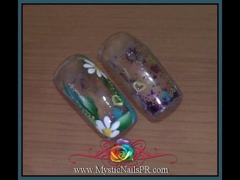 Pecera Acuario con NARRACION :::.. ☆ Jennifer Perez of Mystic Nails ~ Nail Art Uñas