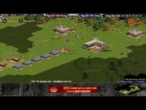 AOE | Liên Tỉnh Vòng Bán Kết  Nguyễn Việt Hưng vs Nguyễn Văn Sang ngày 17 9 2017.BLV:G Man