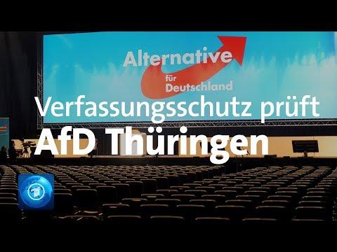 Thüringen: Verfassungsschutz nimmt AfD ins Visier