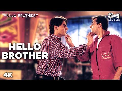 Video Hello Brother - Hello Brother | Salman, Arbaaz & Rani | Sonu Nigam, Kamaal Khan & Jaspinder download in MP3, 3GP, MP4, WEBM, AVI, FLV January 2017