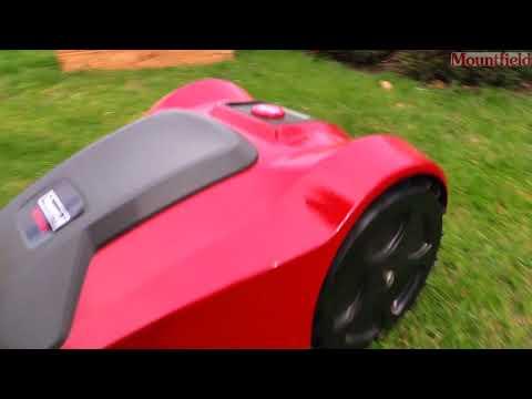 Robotická sekačka Mountfield a test Českého kutila