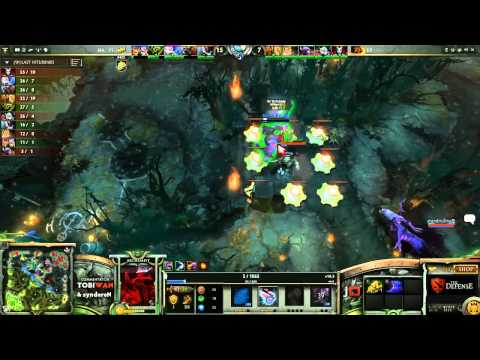 Na'Vi vs Kaipi GRAND FINAL Game 3   The Defense DOTA 2 Playoffs   TobiWan & syndereN