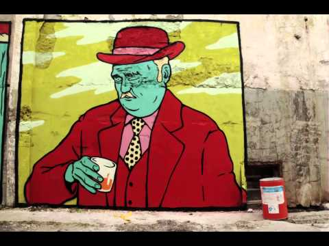 Street art Broken Fingaz  La Fabrica