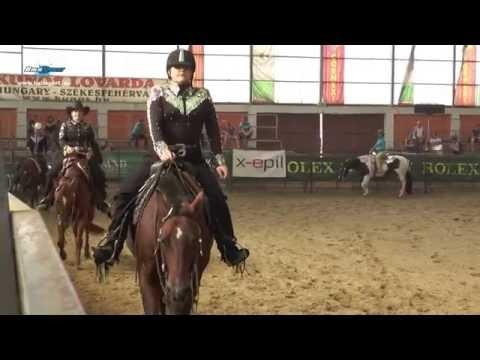 Hord�ker�l�s, pleasure �s reining a Western OB 4. fordul�j�n