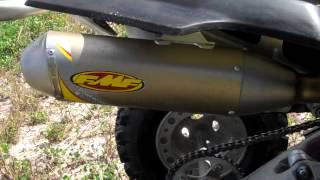 8. KFX 450 FMF SOUND CLIP AND WALK AROUND II
